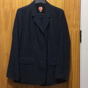 J. Jill navy suit